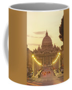 Saint Peters Cathedral In The Vatican Coffee Mug