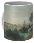 Saint Peter's Seen From The Campagna Coffee Mug by George Snr Inness