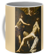 Saint Sebastian Succoured By The Angels Coffee Mug
