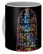 Sainte-mere-eglise Paratrooper Tribute Stained Glass Window Coffee Mug