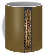 Saints Nicholas Damian And Margaret   Right Pilaster Coffee Mug