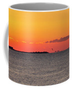 Sakonnet Point Sunrise And Lighthouse Coffee Mug