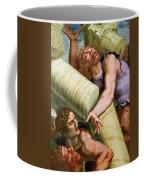 Sala Dei Giganti Coffee Mug by Giulio Romano
