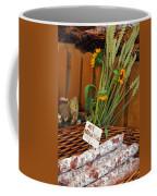Salami For Slae With Wheat Coffee Mug