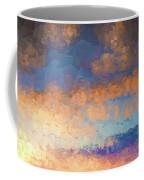 Salamonie Sunset Abstract Coffee Mug