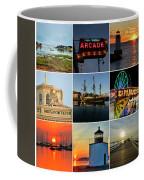 Salem Ma Nine Picture Collage Coffee Mug