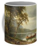 Salmon Fishing On The Caspapediac River Coffee Mug