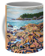 Salmon Rocks Coffee Mug