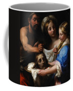 Salome With The Head Of Saint John The Baptist Coffee Mug by Onorio Marinari