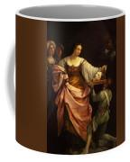 Salome With The Head Of St John Baptist 1640 Coffee Mug