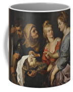 Salome With The Head Of St. John The Baptist Coffee Mug