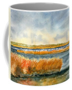 Salt Marsh And Snow Geese Coffee Mug