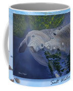 Salt Water Ballet - Manatees - 2 Coffee Mug