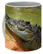 Saltwater Crocodile By Kaye Menner Coffee Mug