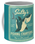 Salty's Fishing Charters Coffee Mug