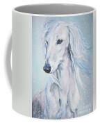 Saluki White Beauty Coffee Mug