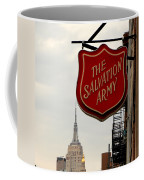 Salvation Army New York Coffee Mug