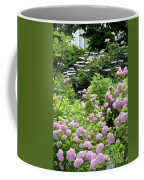 Pink Hydrangeas In Mirabell Garden Coffee Mug