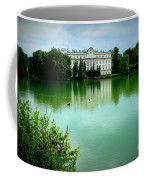 Salzburg Home With Lake Coffee Mug by Carol Groenen