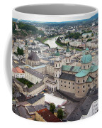 Salzburg Panoramic Coffee Mug