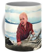Sam And The Log Coffee Mug
