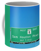 Sam Houston Pkway Coffee Mug