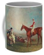 Sam With Sam Chifney Jr. Up Coffee Mug by Benjamin Marshall