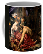 Samson And Delilah Coffee Mug