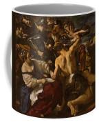 Samson Captured By The Philistines Coffee Mug