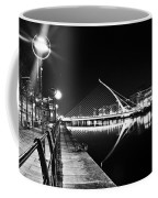 Samuel Beckett Bridge 2 Bw Coffee Mug