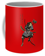 Samurai With Bow Coffee Mug