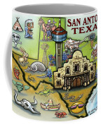 San Antonio Texas Coffee Mug