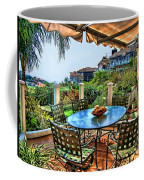 San Clemente Estate Patio Coffee Mug