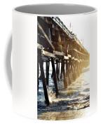 San Clemente Pier Magic Hour Coffee Mug