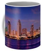 San Diego Skyline At Dusk Coffee Mug