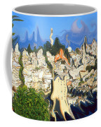 San Francisco 1906 - Modern Art Coffee Mug
