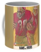 San Francisco 49ers Vintage Program 2 Coffee Mug