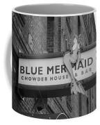 San Francisco Blue Mermaid Bw Coffee Mug