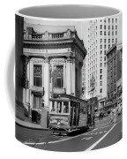 San Francisco Cable Car During Wwii Coffee Mug