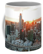San Francisco Financial District Skyline Coffee Mug