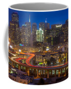 San Francisco From Potrero Hill Coffee Mug by Inge Johnsson