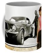 San Francisco Museum Of Art, Frank Bullitt, Steve Mcqueen, Ford Mustang Gt 390, Fastback Coffee Mug