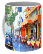San Francisco North Beach Outdoor Dining Coffee Mug