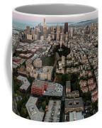 San Francisco Skyline And Coit Towersan Francisco Skyline And Coit Tower Coffee Mug