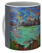 San Francisco Skyline In Sunset Coffee Mug