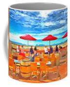 San Francisco Skyline From Alameda  Coffee Mug