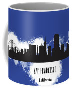 San Francisco Skyline Silhouette Coffee Mug