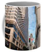 San Francisco Street View - Parc 55  Coffee Mug