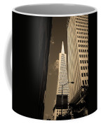 San Francisco - Transamerica Pyramid Sepia Coffee Mug