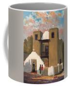 San Geronimo De Taos Spanish Mission Coffee Mug